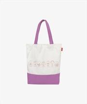 BTS SAUCY Ivory Tote Bag   Apparel