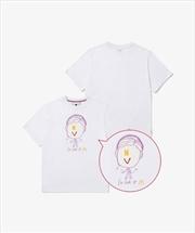 BTS SAUCY - V Tshirt Large   Apparel