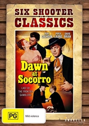 Dawn At Socorro | Six Shooter Classics | DVD
