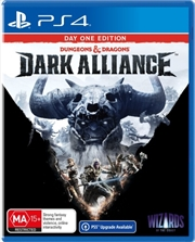 Dungeons and Dragons Dark Alliance Day One   PlayStation 4