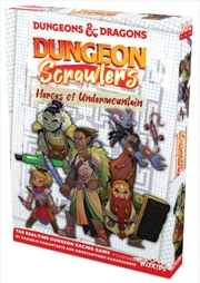 Dungeons & Dragons - Dungeon Scrawlers: Heroes of Undermountain Game | Merchandise