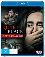 A Quiet Place / A Quiet Place II | 2 Movie Franchise Pack | Blu-ray
