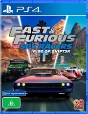 Fast and Furious Spy Racers Rise of Sh1ft3r   PlayStation 4