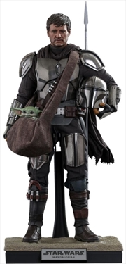 Star Wars: The Mandalorian - Mandalorian & Grogu 1:6 Scale Action Figure Set   Merchandise