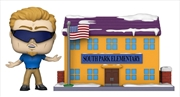 South Park - South Park Elementary with PC Principal Pop! Town | Pop Vinyl