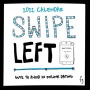 Swipe Left 2022 Square Wall Calendar | Merchandise