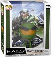 Halo - Master Chief Metallic US Exclusive Pop! Cover [RS] | Pop Vinyl