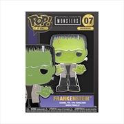 "Universal Monsters - Frankenstein 4"" Pop! Enamel Pin | Merchandise"