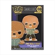"Universal Monsters - Wolfman 4"" Pop! Enamel Pin | Merchandise"