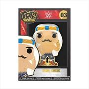 "WWE - Iron Sheik 4"" Pop! Enamel Pin | Merchandise"