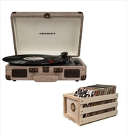 Crosley Cruiser Bluetooth Portable Turntable with Storage Crate - Havana | Hardware Electrical