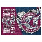 Sea Eagles Team Logo 48 Piece Puzzle | Merchandise