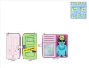 Loungefly - Monsters Inc - Boo's Door Zip Around Purse | Apparel