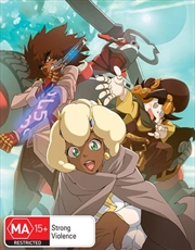 Cannon Busters - Limited Edition | Blu-ray + DVD - Complete Season | Blu-ray/DVD