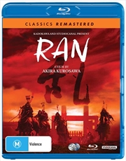 Ran | Classics Remastered | Blu-ray