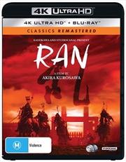 Ran | Blu-ray + UHD - Classics Remastered | UHD