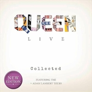 Queen - Live Collected | Hardback Book