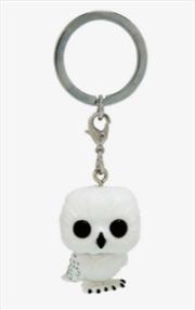 Harry Potter - Hedwig Diamond Glitter US Exclusive Pocket Pop! Keychain [RS] | Pop Vinyl