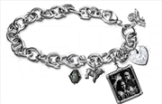 Edward And Bella Charm Bracelet