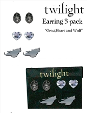 Twilight Earrings 3 Pack