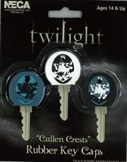 Cullen Crest Rubber Key Caps   Accessories