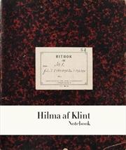 Hilma Af Klint Five Notebook 1 | Hardback Book
