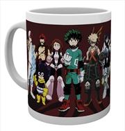 My Hero Academia Heroes Mug   Merchandise