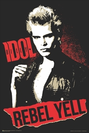 Billy Idol Rebel Yell Poster | Merchandise