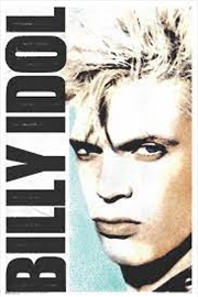 Billy Idol Face Poster | Merchandise