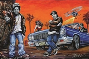 Compton By Dano Poster | Merchandise