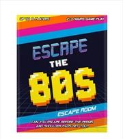 Escape The 80's – Escape Room Game | Merchandise