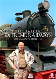 Chris Tarrant's Extreme Railways - Series 1-6   Boxset   DVD
