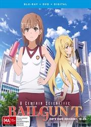 A Certain Scientific Railgun - Season 3 - Part 2 - Eps 13-25 | Blu-ray + DVD | Blu-ray/DVD