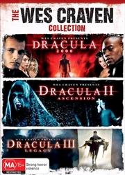 Dracula 2000 / Dracula II - Ascension / Dracula IIII - Legacy | 3 Movie Franchise Pack | DVD