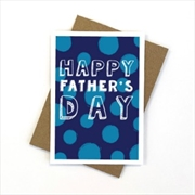Father's Day Spots Card   Merchandise
