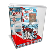 Where's Wally Puzzle In Mug 48pc   Merchandise