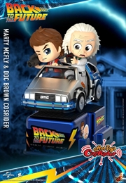 Back to the Future - Marty McFly & Doc Brown Cosrider | Merchandise