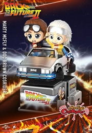 Back to the Future Part II - Marty McFly & Doc Brown Cosrider | Merchandise