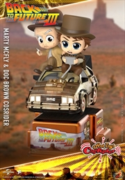 Back to the Future Part III - Marty McFly & Doc Brown Cosrider | Merchandise