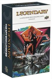 Legendary - 007 James Bond Spy Who Loved Me Deck-Building Game Expansion   Merchandise