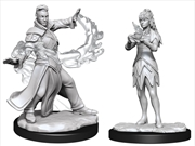 Magic the Gathering - Unpainted Miniatures: Killian & Dina | Games