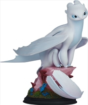 How to Train Your Dragon - Light Fury Statue | Merchandise