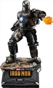 "Iron Man - Iron Man Mark 1 Diecast 1:6 Scale 12"" Action Figure   Merchandise"