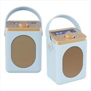 Majority Little Shelford DAB/DAB+ Radio with Bluetooth-Duck Egg-2PK   Hardware Electrical