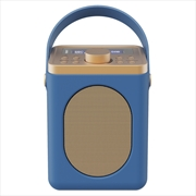 Majority Little Shelford DAB/DAB+ Radio with Bluetooth-Midnight Blue   Hardware Electrical
