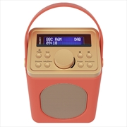 Majority Little Shelford DAB/DAB+ Radio with Bluetooth-Red   Hardware Electrical