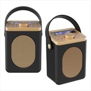 Majority Little Shelford DAB/DAB+ Radio with Bluetooth-Black-2PK   Hardware Electrical