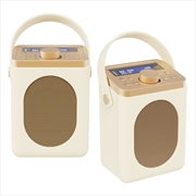 Majority Little Shelford DAB/DAB+ Radio with Bluetooth-Cream-2PK   Hardware Electrical