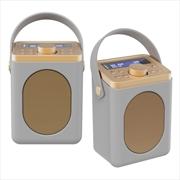 Majority Little Shelford DAB/DAB+ Radio with Bluetooth-Grey-2PK   Hardware Electrical