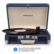 Crosley Cruiser Blue – Bluetooth Portable Turntable | Hardware Electrical